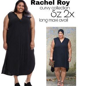 Rachel Roy curvy cllctn maxi shirt dress. Sz 2x